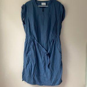 Akris blue dress